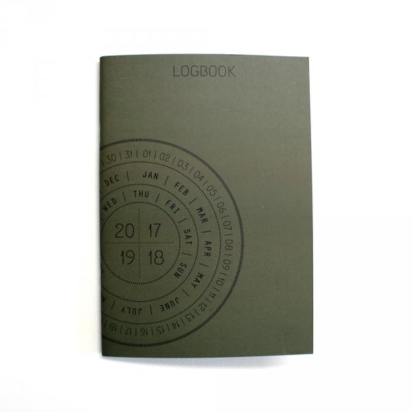 Calendar, everlasting - Logbook, circle date