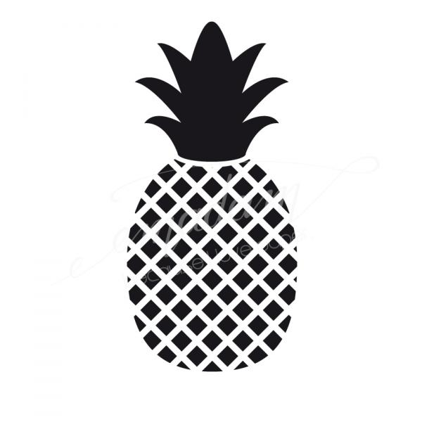 Rubber stamp - Small pineapple