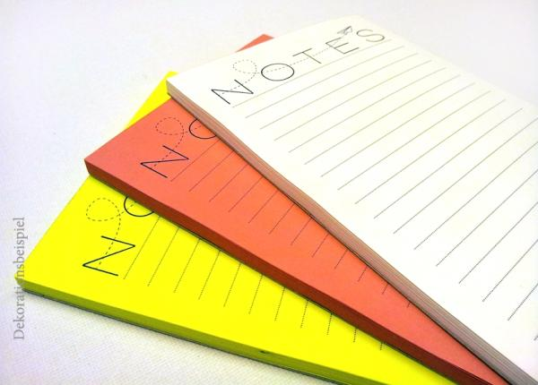 Notizblock-Set - Papierflieger