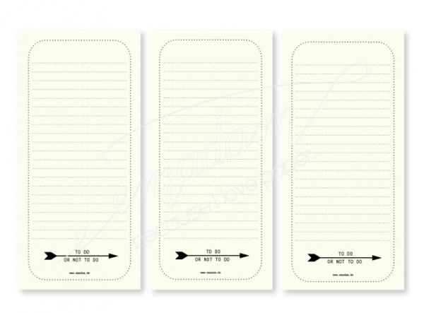 Notepad Set - To Do Or Not To Do