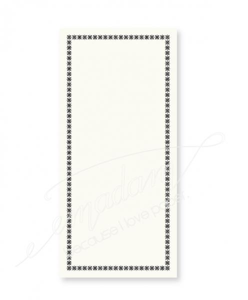 "Notepad - Vintage border ""compass"""
