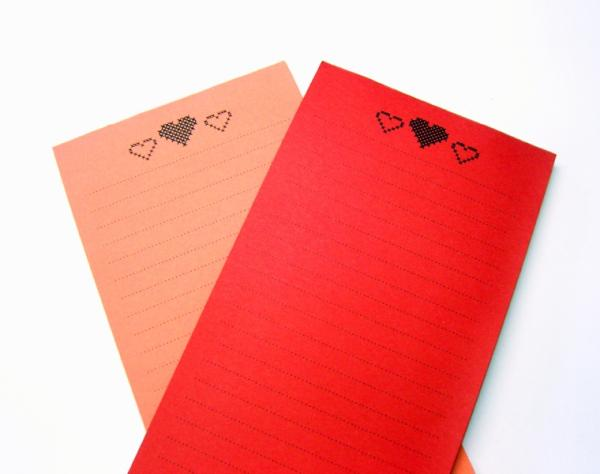 Notepad Set - Little hearts