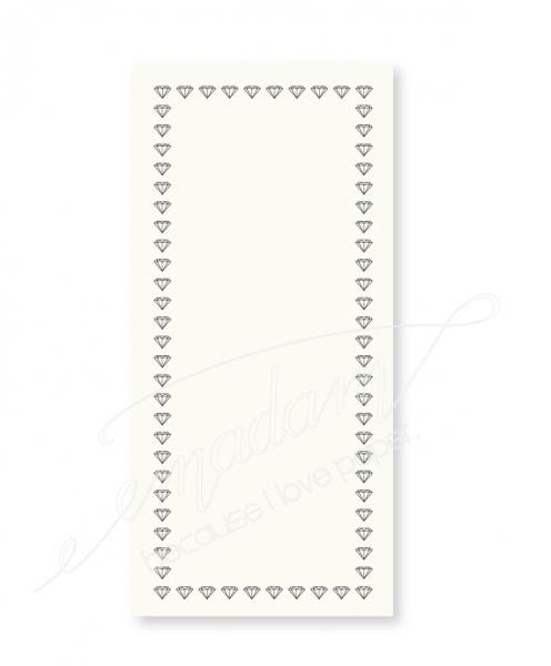 Notepad - Small diamond border