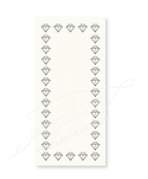 Notepad - Big diamond border