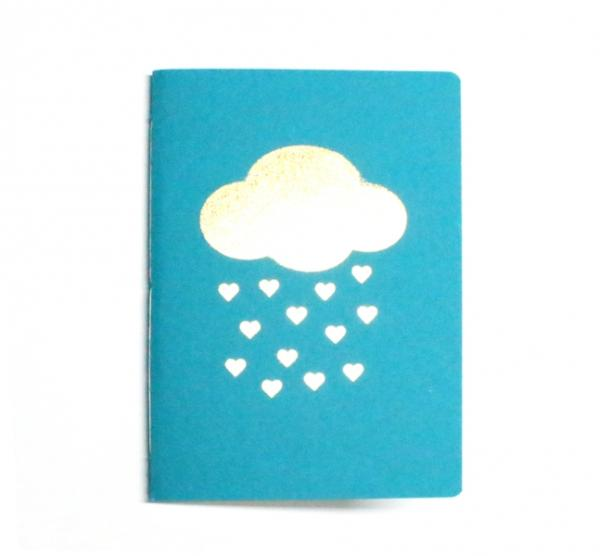 Journal - Golden Cloud with Hearts