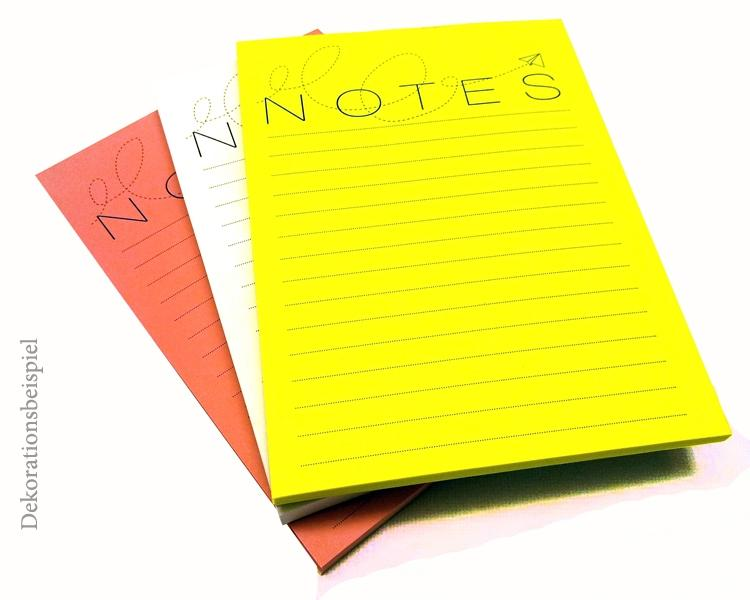 Notepad set - Paper plane