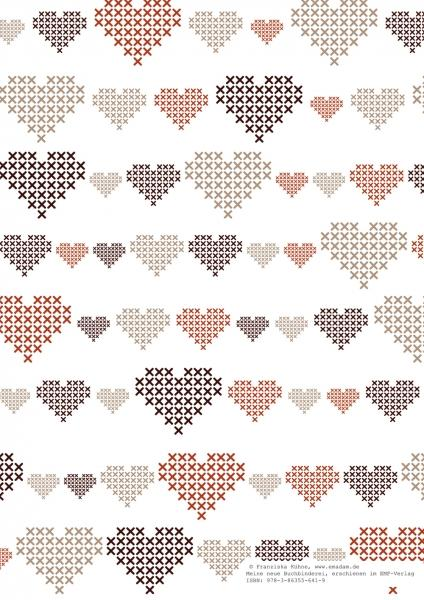 "Pattern ""Fall heart"""