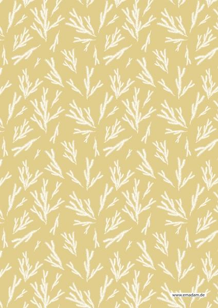 "Pattern ""Fir brunch sand background"""