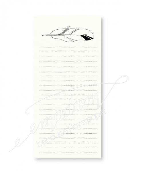 Notepad - Feather No. 2