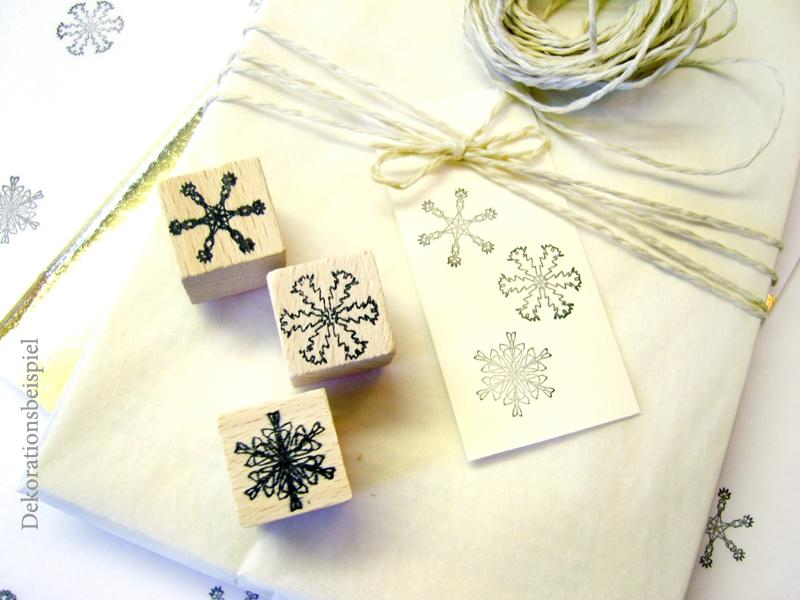 Stamp Set - Snowcrystals No. 2