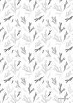 "Pattern ""Fir brunch greytones"""