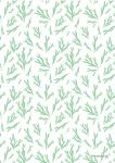 "Pattern ""Fir brunch light green"""